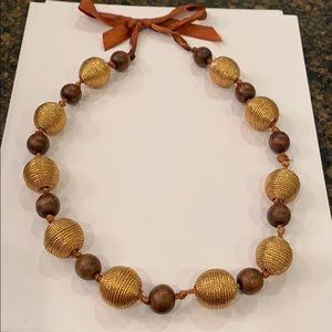 FREE w any purchase wrapped bead tie boho vintage